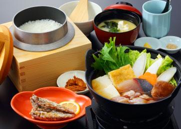 豊ノ島ちゃんこ鍋御膳